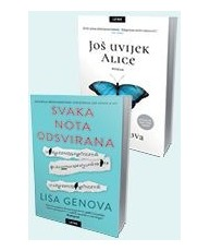 Komplet Lisa Genova Još uvijek Alice    Svaka nota odsvirana
