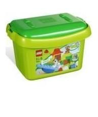Lego Duplo kutija s zelenim kockama