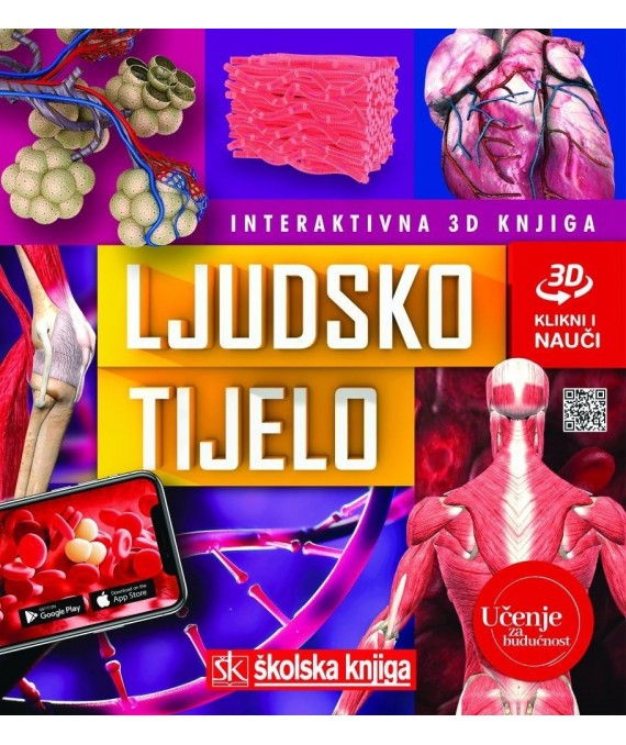 Ljudsko tijelo - interaktivna 3D knjiga