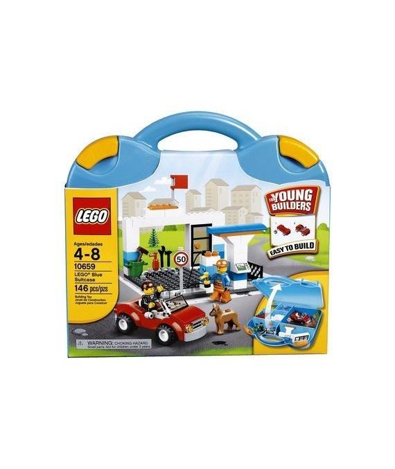Lego's Blue Suitcase