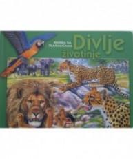 Knjiga sa slagalicama: Divlje životinje