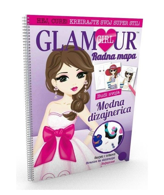 Glamour girl - Budi svoja modna dizajnerica