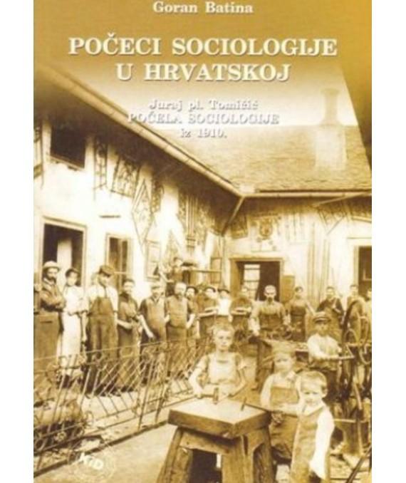 Počeci sociologije u Hrvatskoj