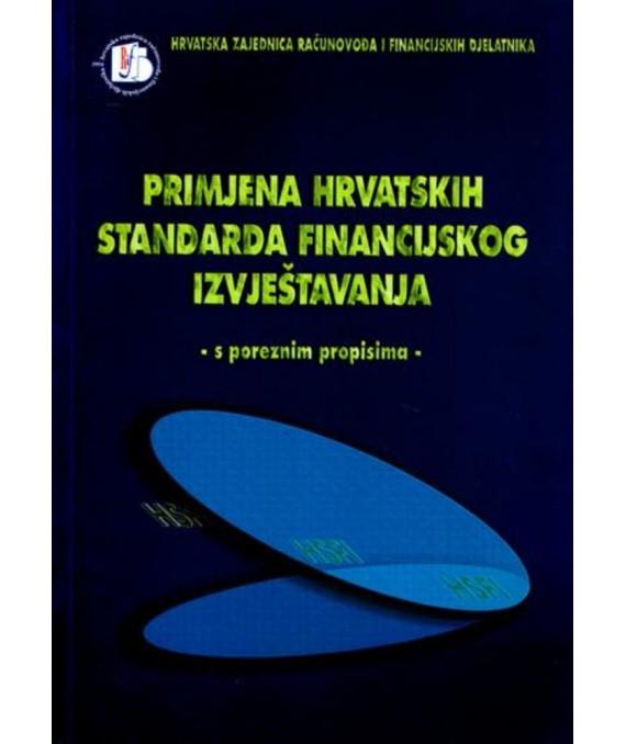 Primjena hrvatskih standarda financijskog izvještavanja
