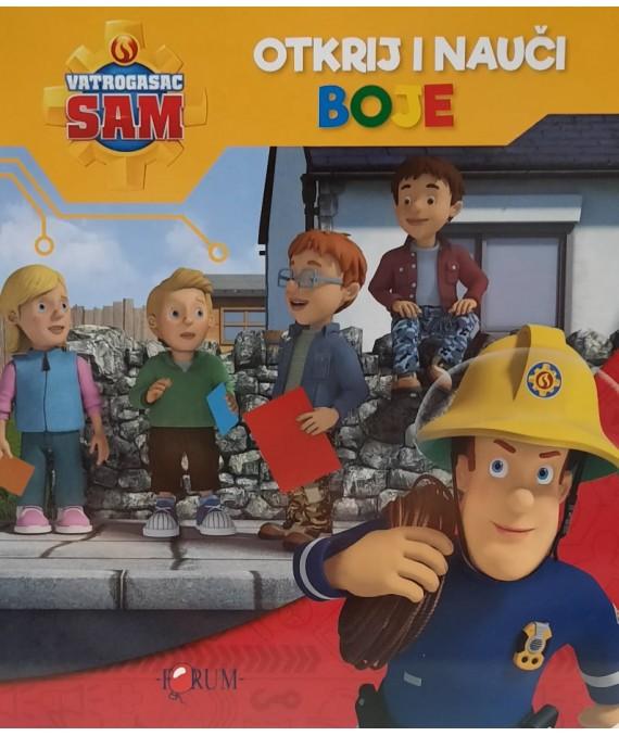 Vatrogasac Sam - Otkrij i nauči boje