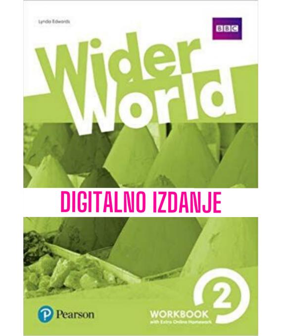 Wider World 2 - Digitalna radna bilježnica