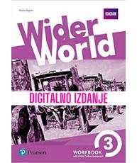 Wider world 3 - Digitalna radna bilježnica