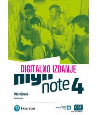High Note 4 - Digitalna radna bilježnica