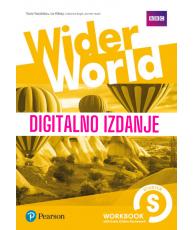Wider World Starter - Digitalna radna bilježnica