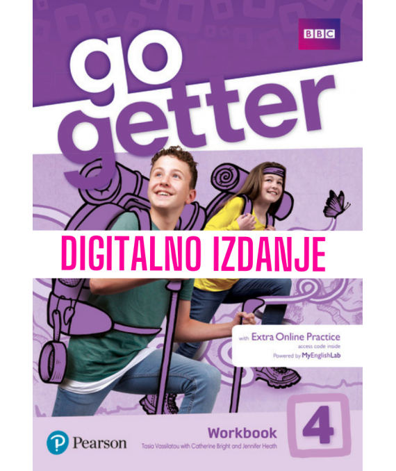 Go Getter 4 - Digitalna radna bilježnica