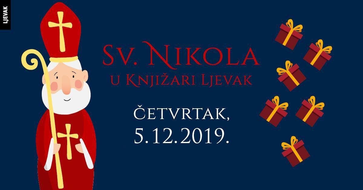 Sv. Nikola u Knjižari Ljevak