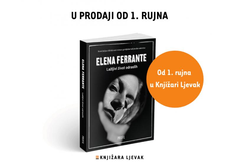 Nova knjiga Elene Ferrante