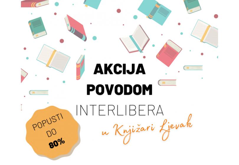 Akcija povodom Interlibera u Knjižari Ljevak